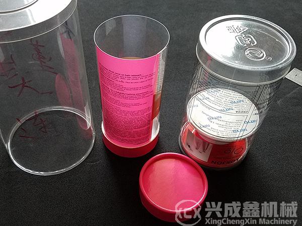 塑料圆筒卷边