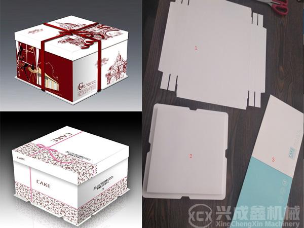 一条完整的蛋糕盒包装生产线,需要配备哪些设备?
